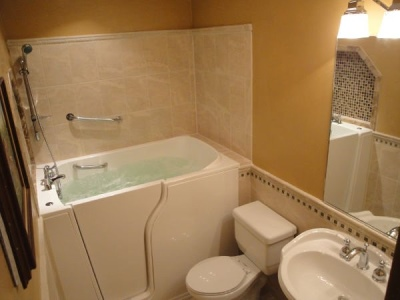 Independent Home Products, LLC installs hydrotherapy walk in tubs in Mount Angel